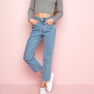 J. Galt Brandy Melville High Rise Millie Jeans